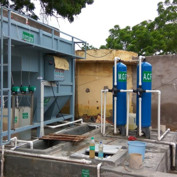 ETP Plant for Food Industry